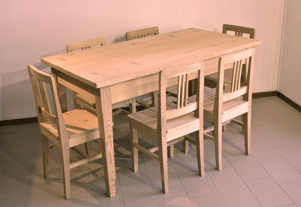 Pragma arredamenti su misura valdidentro shop - Sedie per tavolo fratino ...